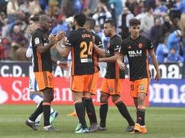Valence allait recevoir environ 400 000 euros pour disputer le match. EFE