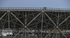 El Volgogrado Arena ha sido completado en plazo. EPA/Archivo