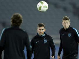 Gumbau elogia a Messi. EFE