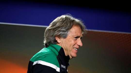 Jorge Jesus dirigirá a los suyos ante el Desportivo das Aves. EFE