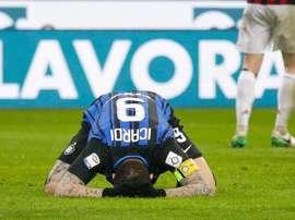 El equipo 'neroazzurro' será superado en la tabla si la Lazio gana. EFE