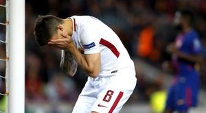 Futebol saudita e turco brigam por Perotti. EFE