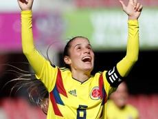 Colombia venció a Uruguay. EFE