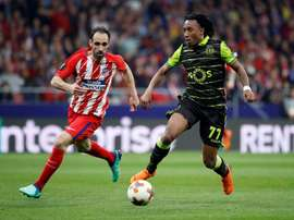 Juanfran played in both legs of Atletico's quarter-final against Sporting Lisbon. EFE
