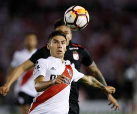 Montiel is one of the three names on Barca's watchlist. EFE