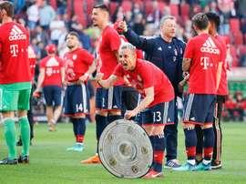 Rafinha quitte le Bayern. EFE