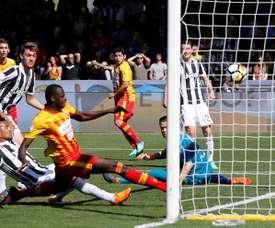Diabaté et ses six buts lors des trois derniers matches. EFE