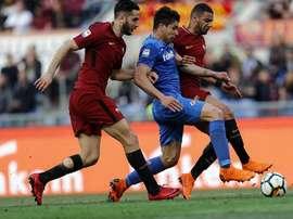 La Fiorentina ha vencido con claridad a la Roma. EFE/EPA