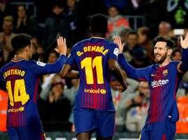 Barcelona procura marca impressionante na Copa del Rey. EFE