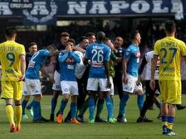 El Nápoles aún puede soñar. EFE