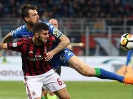 Milan empata com o Sassuolo. EFE