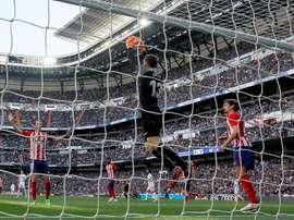 L'Atlético supérieur au Real en championnat. EFE