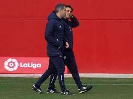 Bonnes nouvelles pour le FC Séville. EFE