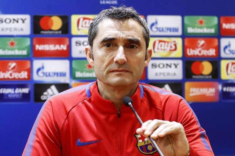 Valverde anunció que habrá rotaciones en Vigo. EFE