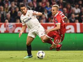 Le Bayern pourrait libérer Rafinha. EFE