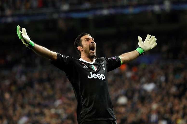 Buffon volvió a hablar tras lo ocurrido en el Bernabéu. EFE