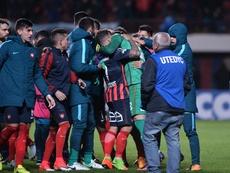 San Lorenzo tomó una ligera ventaja ante Mineiro. EFE