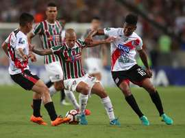 Fluminense goleó a Nacional Potosí. EFE