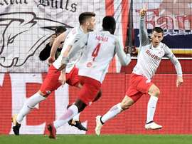 RB Salzburg ran out comfortable winners in the end. EFE