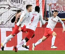 El Salzburgo se llevó el triunfo. EFE