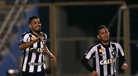 Brenner Marlos no renovó con Botafogo. EFE