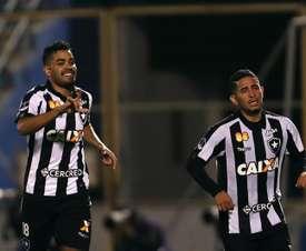 Jogadores emprestados do Botafogo chamam atenção. EFE