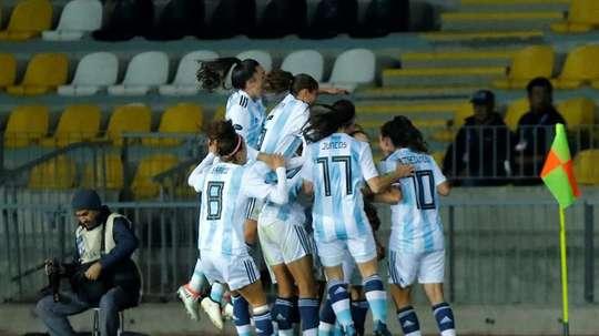 La AFA no le presta ningún apoyo a Argentina. EFE/Archivo