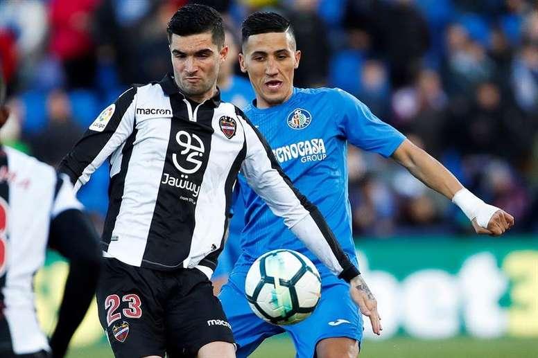 Fajr estaría encantando de volver a jugar en el Getafe. EFE