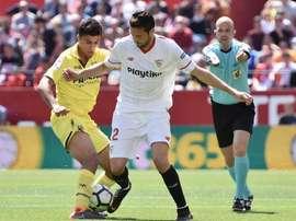 Sevilla e Villarreal empataram em 2-2. EFE