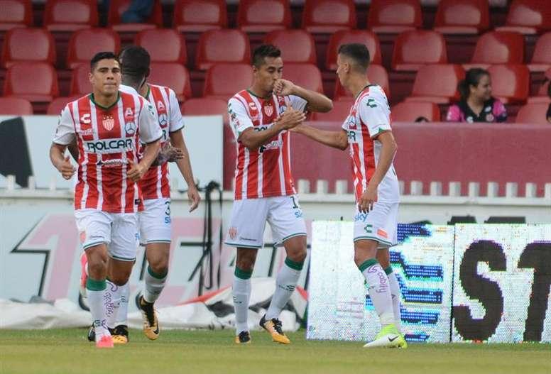 Chivas confirmó su interés por el 'Fideo' Álvarez. EFE/Archivo