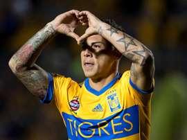 Vargas vería con buenos ojos su regreso a Universidad de Chile. EFE