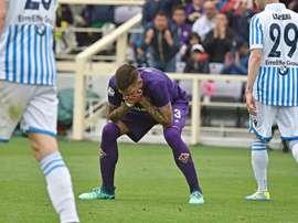 Le latéral pourrait quitter la Fiorentina. EFE