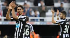 Ayoze consigue más de media salvación para el Newcastle. EFE/EPA/Archivo