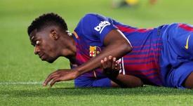 L'attaquant français pourrait quitter le Barça. EFE