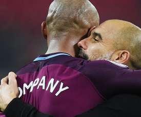 Guardiola pede ao City um substituto para Kompany. EFE/EPA