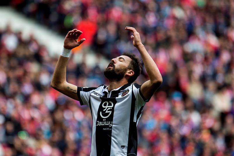 El Atlético de Madrid derrotó fácilmente al Levante