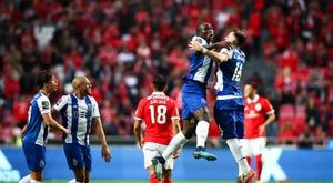Benfica - Porto. AFP