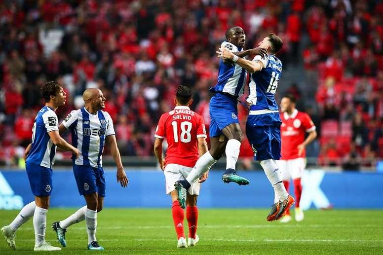 O FC Porto foi mais forte. AFP