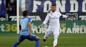 Sergio Ramos n'aime pas l'ambiance dans laquelle se trouve son équipe. EFE