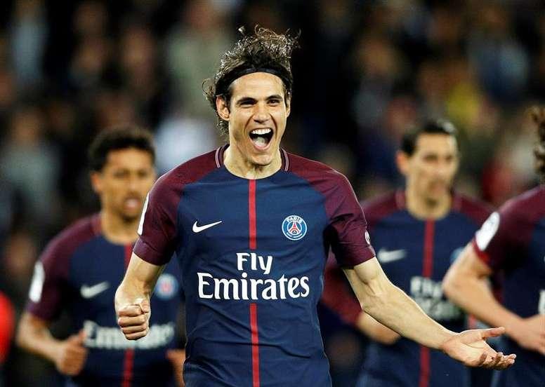 PSG goleou o Monaco e sagrou-se campeão. EFE
