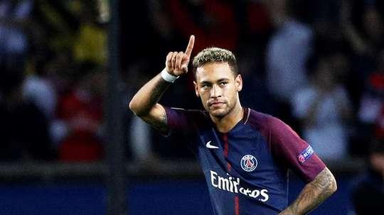 Neymar fait un pas en arrière. EFE