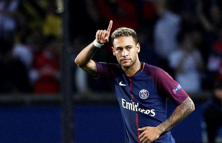 Neymar, novamente apontado ao Real Madrid. EFE