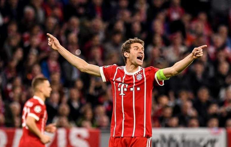 El Bayern, a por la segunda pata del triplete. EFE