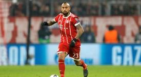El chileno tiene pie y medio fuera del Bayern de Múnich. EFE/Archivo