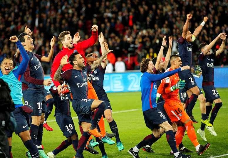 Neymar 'estuvo' en la celebración. EFE