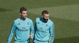 Cristiano pede para a Juve contratar Benzema. EFE