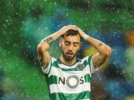 Bruno Fernandes. EFE