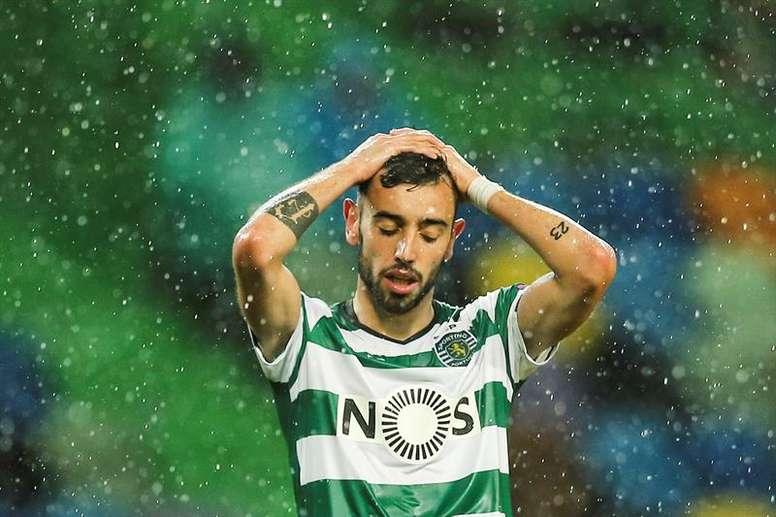 Os atletas do Sporting querem ganhar a Taça de Portugal. EFE