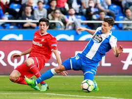 Schar spent one year at Deportivo. EFE