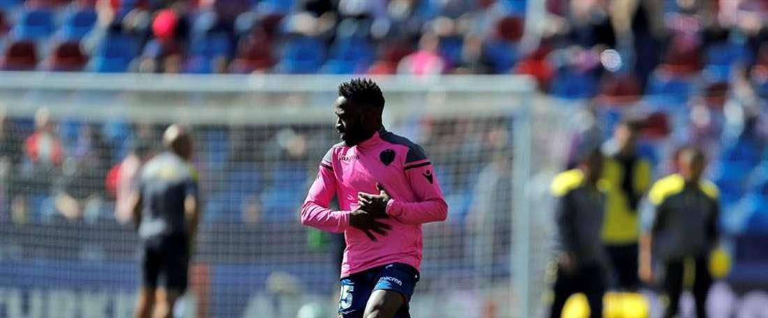 Fahad revient à Valence. EFE